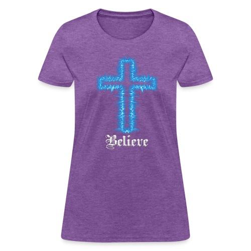 Blue Inspiration V.1 - Women's T-Shirt