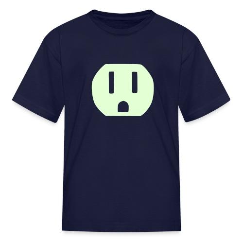 Shocker (glow in dark) - Kids' T-Shirt