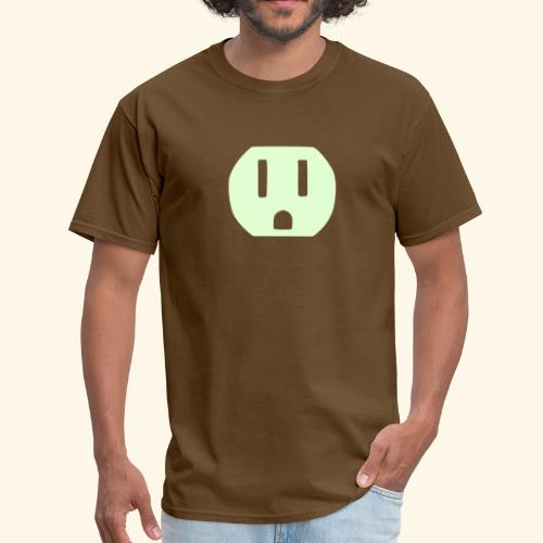 Shocker (glow in dark) - Men's T-Shirt