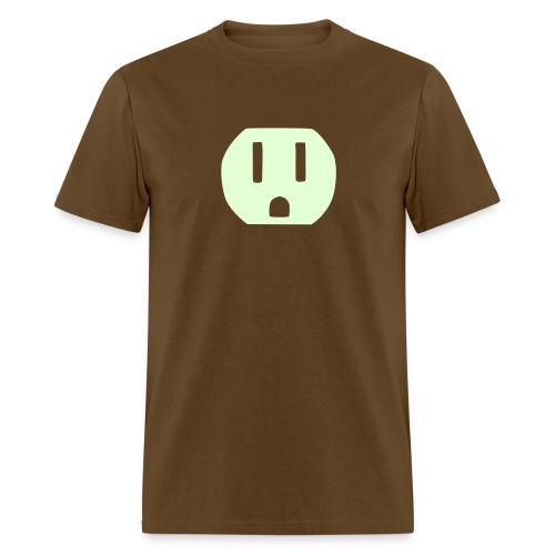 Shocker (glow in dark) - Men's T-Shirt
