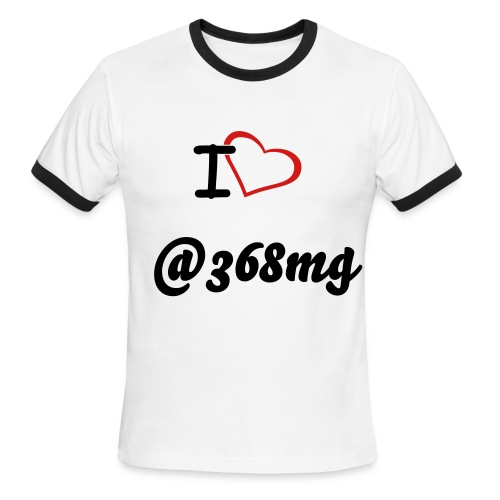 IHEART @368MG - Men's Ringer T-Shirt