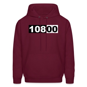 Lost, swac hatch clock - men hoodie - Men's Hoodie