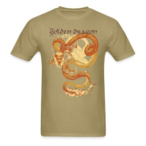 Golden Dragon by AG - Men's T-Shirt