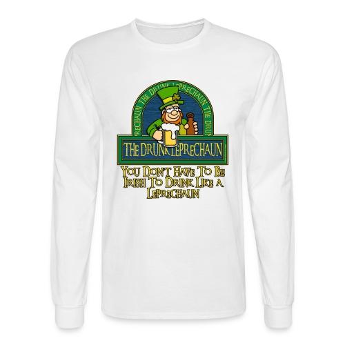 Drunken Leprechaun - Men's Long Sleeve T-Shirt