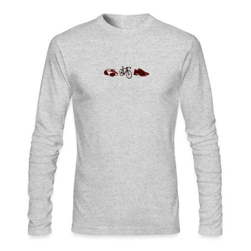 Triathlon - Men's Long Sleeve T-Shirt by Next Level