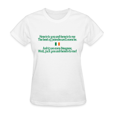 White Here's To You Women's T-Shirts