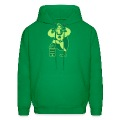 Green Saint Patrick's Day Superhero Hoodies