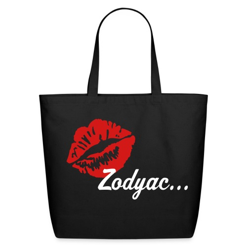 Zodyac Brand Tote Black - Eco-Friendly Cotton Tote
