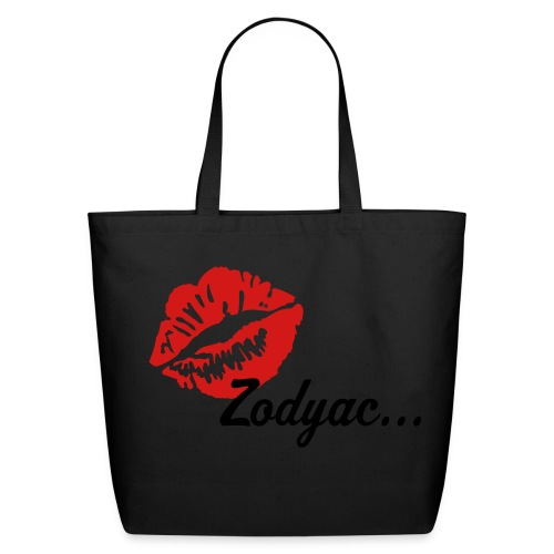 Zodyac Brand Tote Beige - Eco-Friendly Cotton Tote