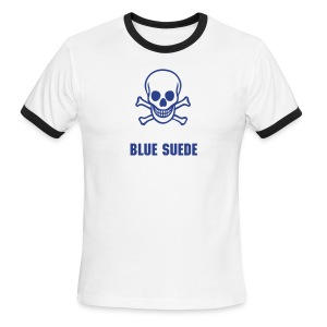 Blue Suede T - Men's Ringer T-Shirt