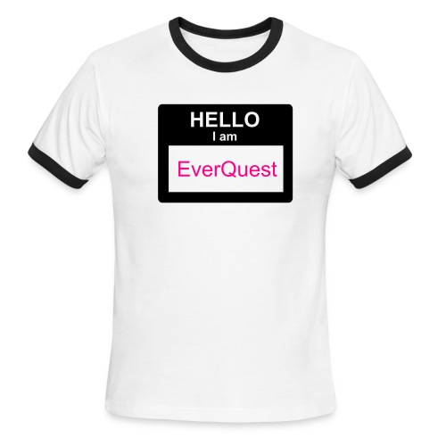 My name is everquest - Men's Ringer T-Shirt