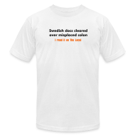 T-Shirts ~ Men's T-Shirt by American Apparel ~ Article 5685826