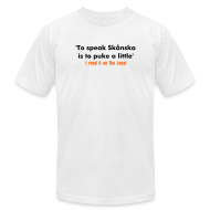 T-Shirts ~ Men's T-Shirt by American Apparel ~ Article 5685839