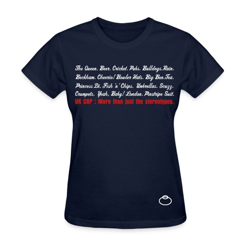 UK Stereotypes for Girls. - Women's T-Shirt