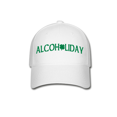 White Alcoholiday Caps
