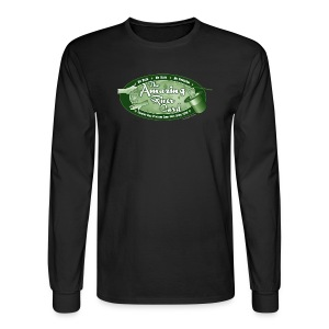 Amazing River Card - Men's Long Sleeve T-Shirt