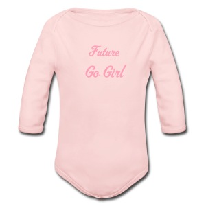 Future Go Girl Baby One Piece - Long Sleeve Baby Bodysuit