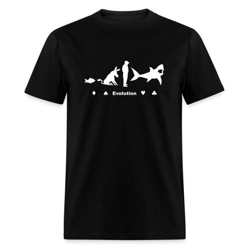 Evolution of Poker - Men's T-Shirt