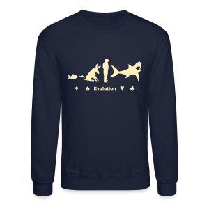 Evolution of Poker - Crewneck Sweatshirt