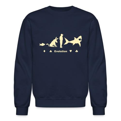 Evolution of Poker - Crewneck Sweatshirt
