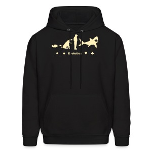 Evolution of Poker - Men's Hoodie