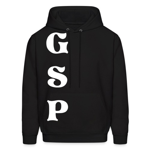 G.S.P Cross'd Up Black Sweatshirt - Men's Hoodie