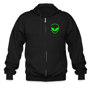 Redneck Abduction Squad[him][sweatshirt][jacket] - Men's Zip Hoodie