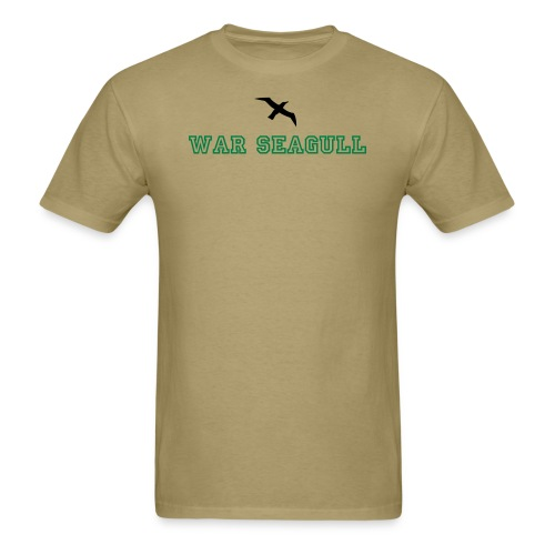 War Seagull - Men's T-Shirt