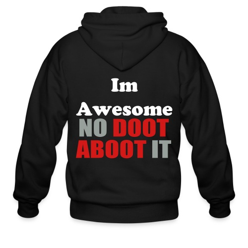 Im Awesome - Men's Zip Hoodie