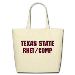 Texas State Rhet/Comp Eco-friendly Tote  - Eco-Friendly Cotton Tote