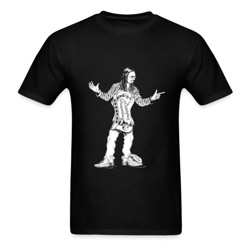 Dennis Gruenling t-shirt (black) - Men's T-Shirt