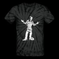 T-Shirts ~ Unisex Tie Dye T-Shirt ~ Dennis Gruenling Tie-Dye t-shirt (black)