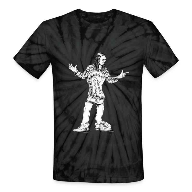 Dennis Gruenling Tie-Dye t-shirt (black) - Unisex Tie Dye T-Shirt