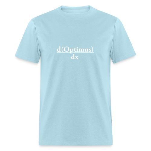 The derivative of Optimus? - Men's T-Shirt