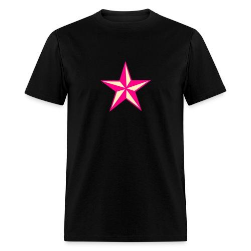 Navy Star by TruShirts.com - Men's T-Shirt
