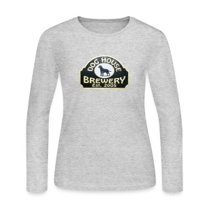 Dog House Brewery Women's long Sleeve - Choose Color - Women's Long Sleeve Jersey T-Shirt
