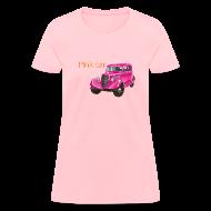 T-Shirts ~ Women's T-Shirt ~ Pink car t-shirt