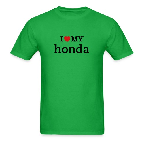 i love my honda - Men's T-Shirt
