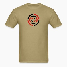 Khaki circle sign T-Shirts