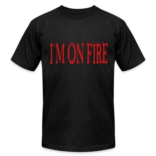 I`M ON FIRE on MEN`S AA T-SHIRT by VAN TRIBE FASHION - Men's  Jersey T-Shirt