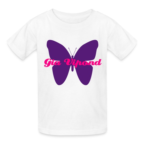 Kids White Gia T! - Kids' T-Shirt