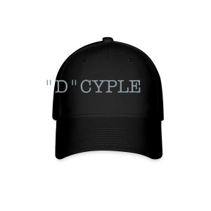 d-cyple hat metalic silver - Baseball Cap
