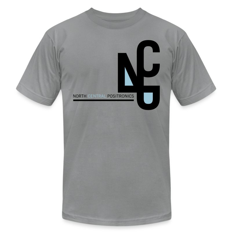 North Central Positronics - Men's T-Shirt by American Apparel