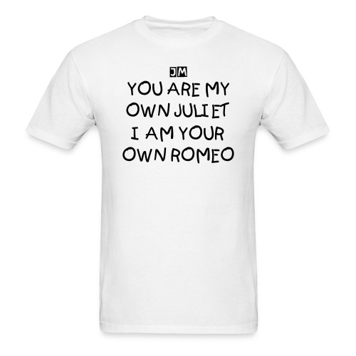 My own Juliet Lyric shirt - Men's T-Shirt