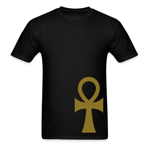 WUBT 'Ankh' Men's Standard Tee, Black - Men's T-Shirt