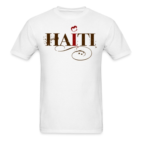 I Love Haiti Shirt - $5 of each purchase goes directly to the relief efforts in Haiti. - Men's T-Shirt