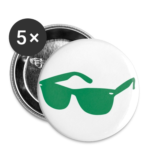 Glasses button - Buttons large 2.2'' (5-pack)