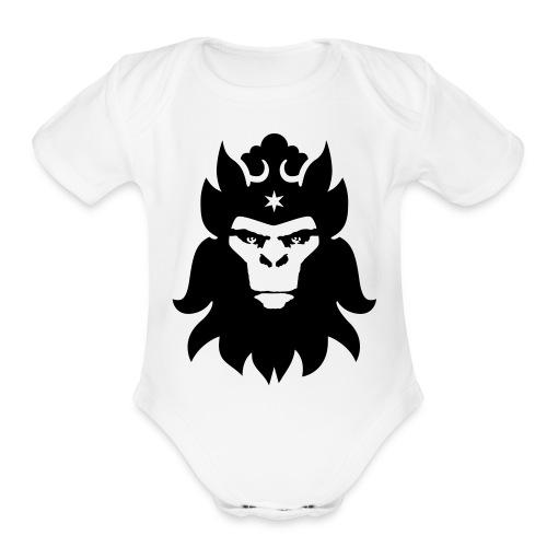 Mo Money Mo Money Baby OnePiece - Organic Short Sleeve Baby Bodysuit