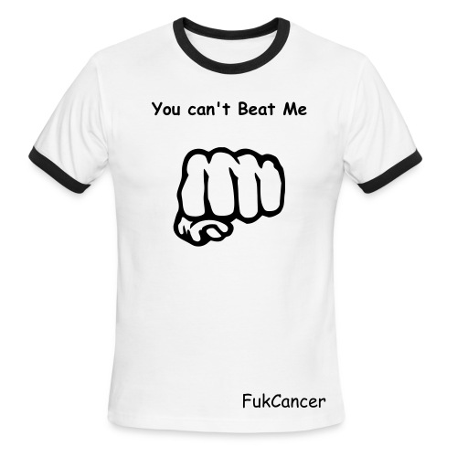 You Can't beat me - Men's Ringer T-Shirt