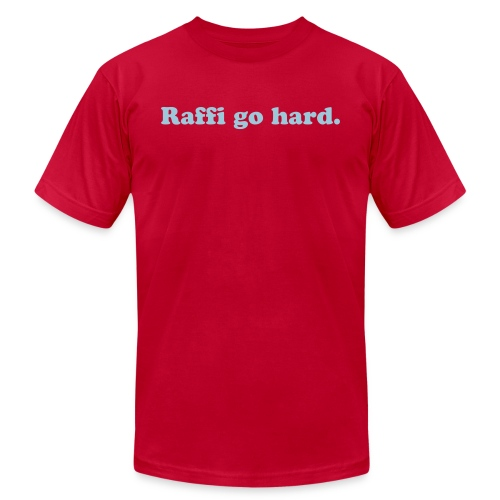 Raffi Go Hard. - Men's Fine Jersey T-Shirt